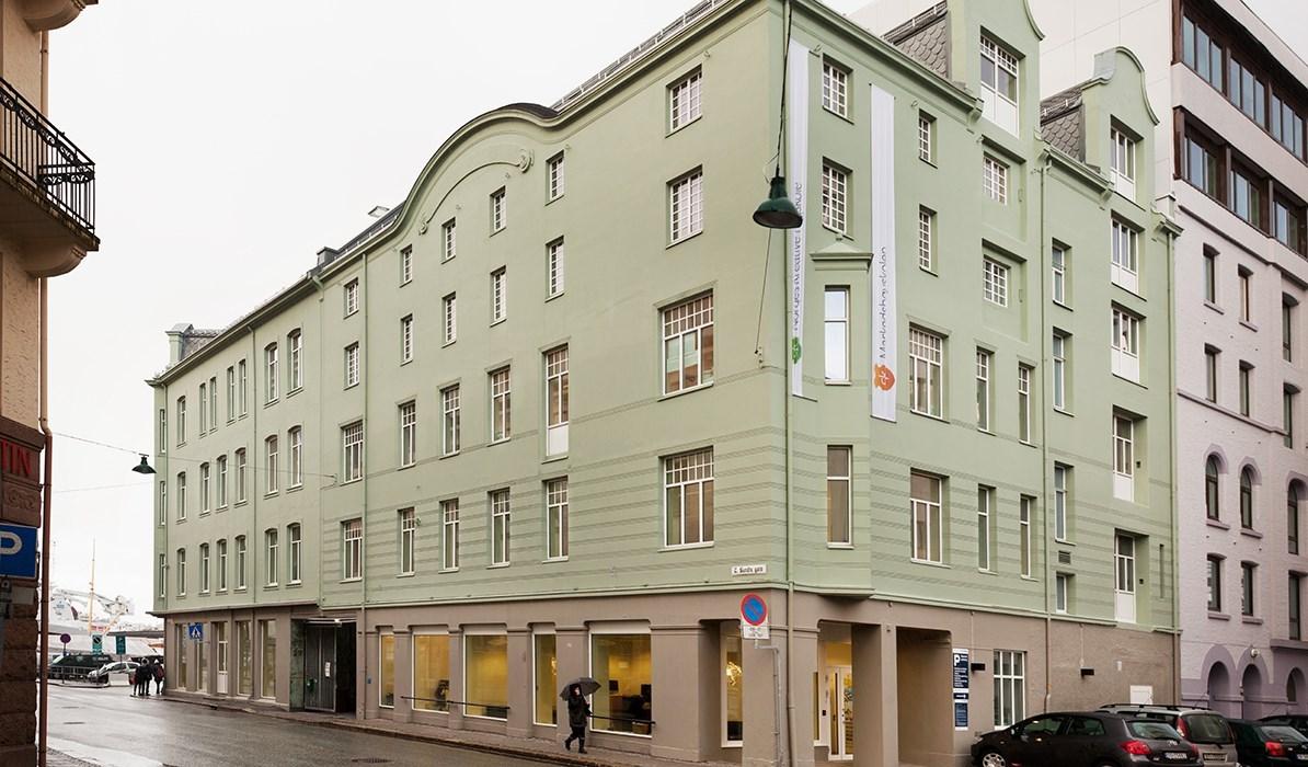 Slik finner Kristiania-studenter frem i Bergen