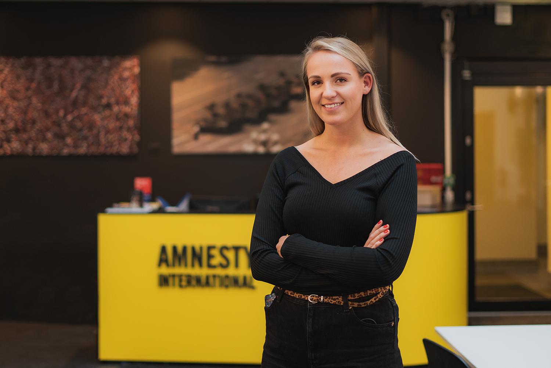 Fra skolebenken til Amnesty