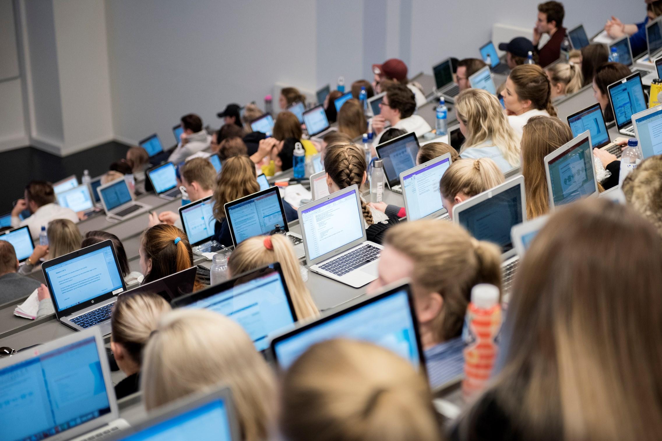Rekordmange søkere til høyere utdanning i Bergen
