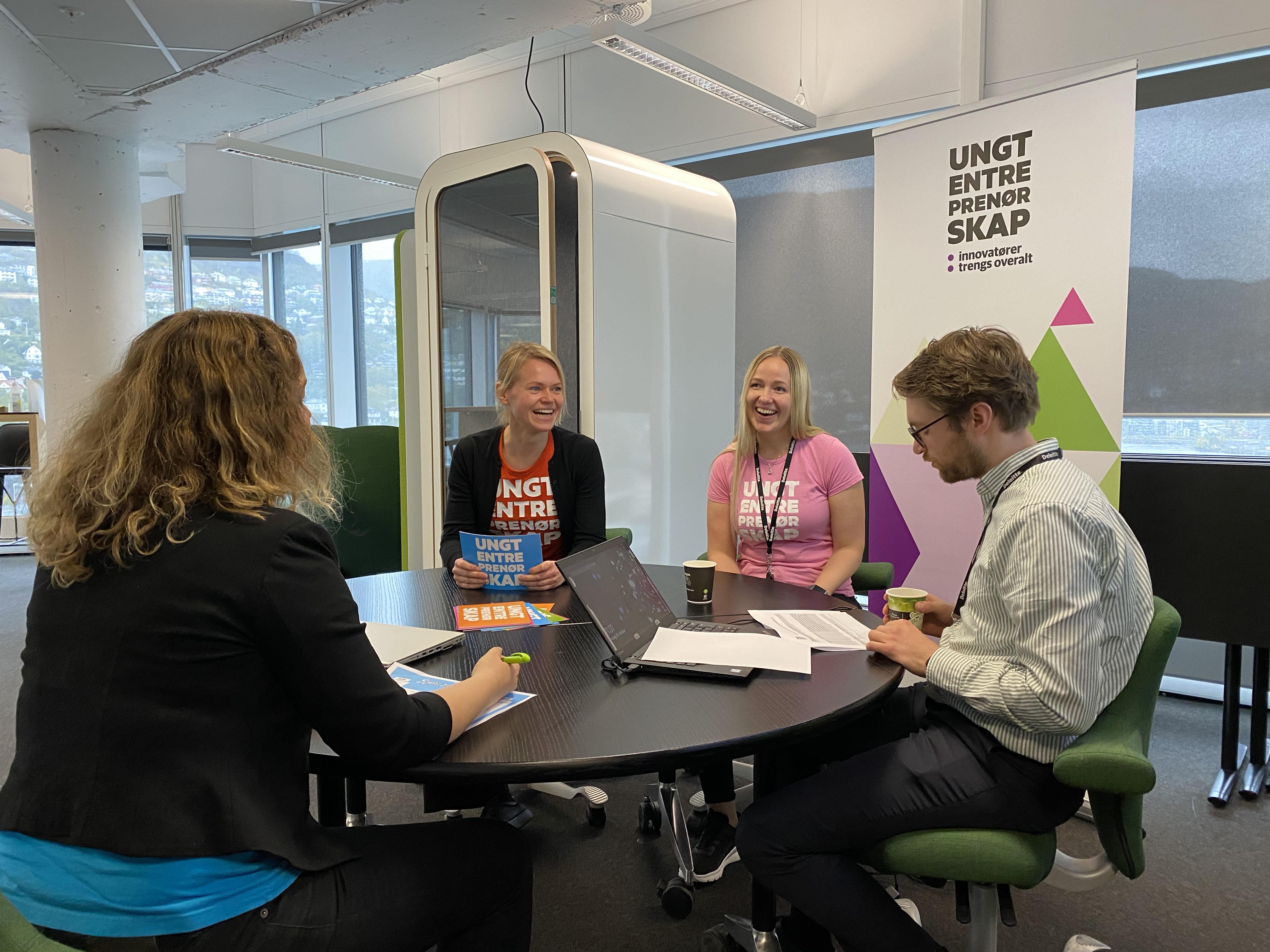 Kristiania på lag med Ungt Entreprenørskap