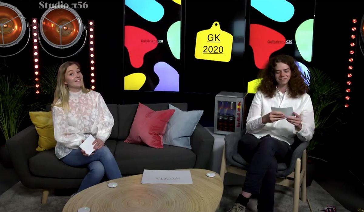 Kristiania-studenter tok storeslem under årets Gullkalven-konkurranse