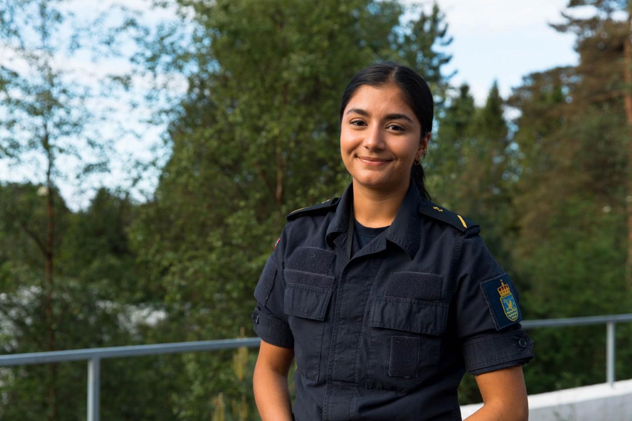 Sjøforsvarets første praksisstudent