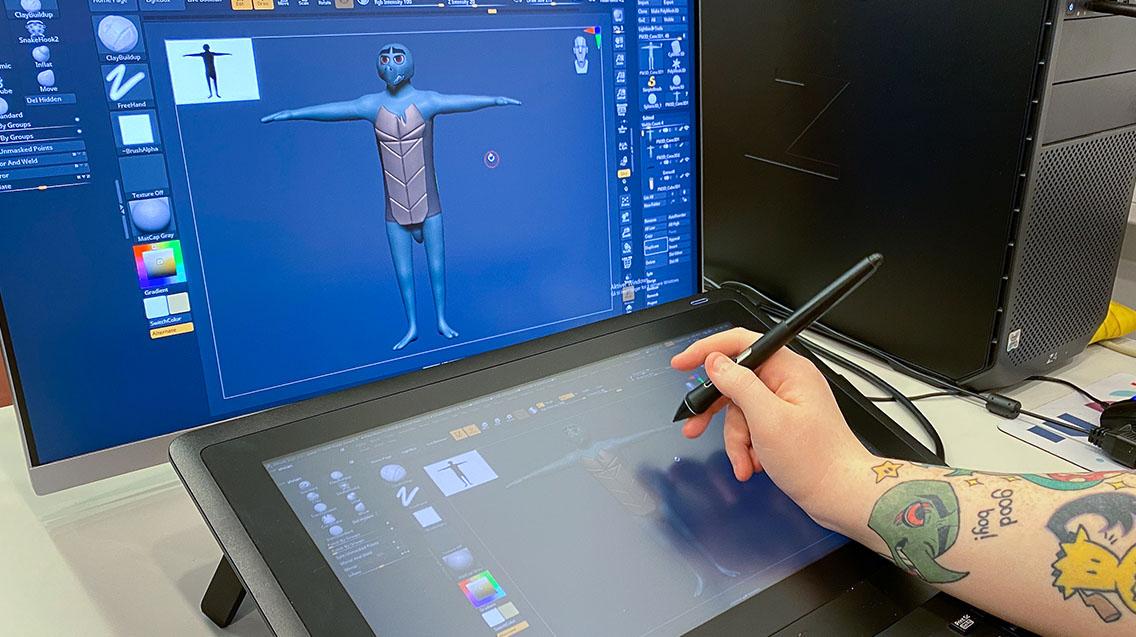 Spillgrafikk og animasjon - Fullfinansiert