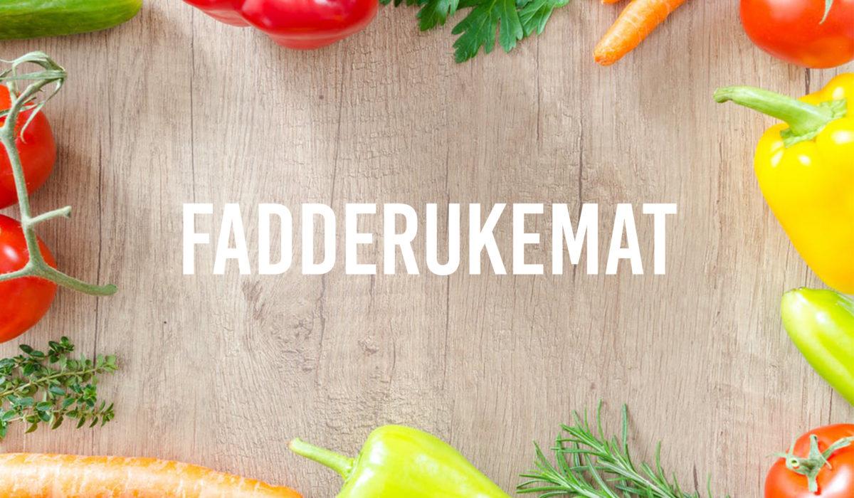 Kvikk fiks: Fadderuke-mat
