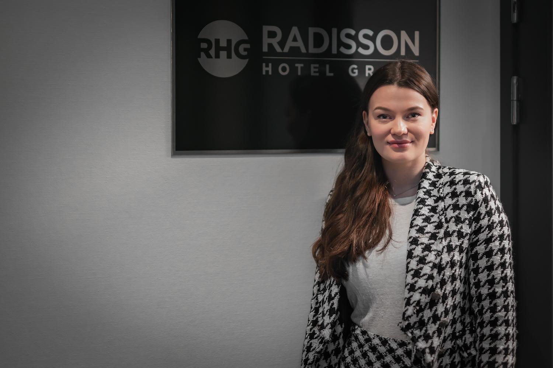 Fikk drømmejobben i Radisson Hotel Group